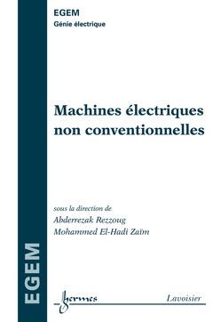 Couverture de l'ouvrage Machines électriques non conventionnelles