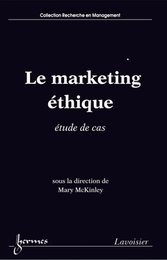 Couverture de l'ouvrage Le marketing éthique