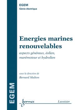 Couverture de l'ouvrage Énergies marines renouvelables