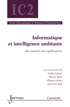 Cover of the book Informatique et intelligence ambiante