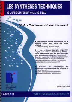 Couverture de l'ouvrage Traitements / Assainissement (Les Synthèses techniques de l'office international de l'eau, EN 05-2)
