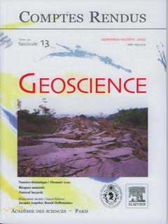 Couverture de l'ouvrage Comptes rendus Académie des sciences, Geoscience, tome 337, fasc 13, Septembre Octobre 2005 : risques naturels / Natural hazards