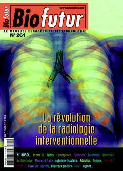 Couverture de l'ouvrage Biofutur N° 261 : La révolution de la radiologie interventionnelle