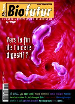 Couverture de l'ouvrage Biofutur N° 262: Vers la fin de l'ulcère digestif ?