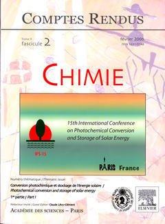 Couverture de l'ouvrage Comptes rendus Académie des sciences, Chimie, tome 9, fasc 2, Février 2006 : conversion photochimique et stockage de l'énergie solaire...(1re partie)