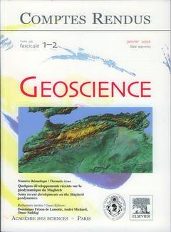 Couverture de l'ouvrage Comptes rendus Académie des sciences, Géoscience, Tome 338, fasc 1-2, janvier 2006 : quelques développements récents sur la géodynamique du Maghreb...