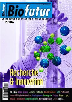 Couverture de l'ouvrage Biofutur N° 267 : recherche & innovation