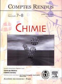 Couverture de l'ouvrage Comptes rendus Académie des sciences, Chimie, tome 9, fasc 7-8, juillet-août 2006 : chimie des fullerènes / Fullerene chemistry