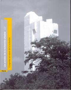 Couverture de l'ouvrage Annales de la recherche urbaine N° 104 : juin 2008 : l'expertise au miroir de la recherche