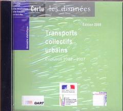 Couverture de l'ouvrage Annuaire statistique 2008 - Transports collectifs urbains