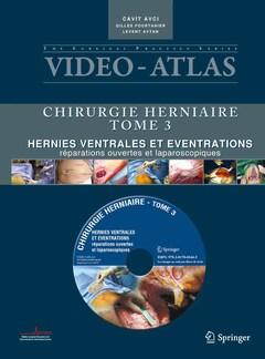 Couverture de l'ouvrage Vidéo atlas chirurgie herniaire Tome 3