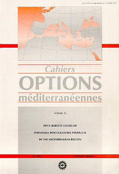 Couverture de l'ouvrage Post-harvest losses of perishable horticultural products in the mediterranean region (Cahiers Options méditerranéennes Volume 42)