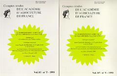 Couverture de l'ouvrage L'enseignement agricole, quels apports à la société ? 2 volunes inséparables (comptes-rendus de l'Académie d'Agriculture de France vol 85 n°5 1999)