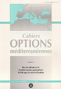 Couverture de l'ouvrage Recent advances in Mediterranean aquaculture finfish species diversification (Cahiers Options méditerranéennes Vol.47 2000)