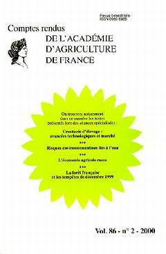 Couverture de l'ouvrage Crustacés d'élevage : avancées technologiques et marché. Risques environnementtaux liés à l'eau...(Comptes rendus de l'AAF Vol.86 N°2 2000)