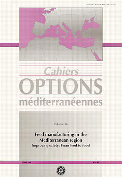 Couverture de l'ouvrage Feed manufacturing in the Mediterranean region : improving safety from feed to food (Cahiers options méditerranéennes vol. 54 - 2001)