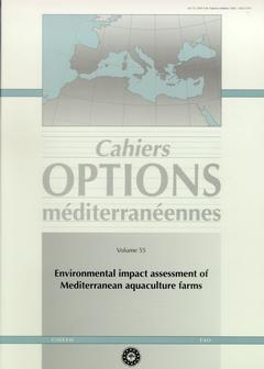 Couverture de l'ouvrage Environmental impact assessment of mediterranean farms, TECAM, Zaragosa, 17 -21 january 2000 (Cahiers options méditerranéennes volume 55)