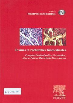 Couverture de l'ouvrage Toxines et recherches biomédicales.