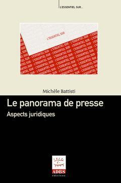 Couverture de l'ouvrage Le panorama de presse : aspects juridiques
