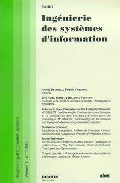 Couverture de l'ouvrage Ingénierie des systèmes d'information Vol.1 N° 1/1993