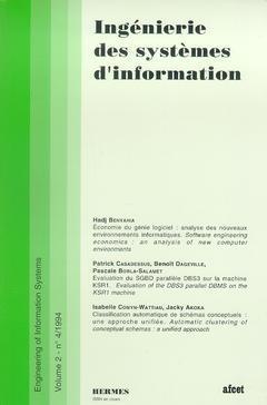 Couverture de l'ouvrage Ingénierie des systèmes d'information Vol.2 N° 4/1994