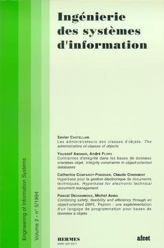 Couverture de l'ouvrage Ingénierie des systèmes d'information Vol.2 N° 5/1994
