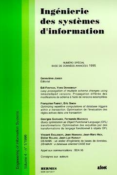 Couverture de l'ouvrage Ingénierie des systèmes d'information Vol.4 N° 1/1996