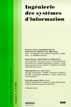 Couverture de l'ouvrage Ingénierie des systèmes d'information Vol.4 N° 5/1996