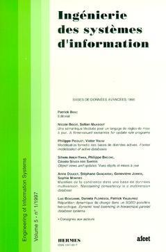 Couverture de l'ouvrage Ingénierie des systèmes d'information Vol.5 N° 1/1997