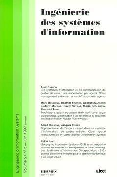 Couverture de l'ouvrage Ingénierie des systèmes d'information Vol.5 N° 2/Juin 1997