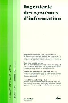 Couverture de l'ouvrage Ingénierie des systèmes d'information Vol.5 N° 4/Octobre 1997