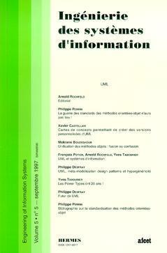 Couverture de l'ouvrage Ingénierie des systèmes d'information Vol. 5 N° 5/Septembre 1997