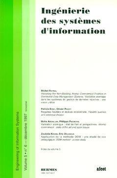 Couverture de l'ouvrage Ingénierie des systèmes d'information Vol.5 N° 6/Décembre 1997