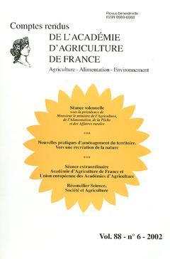 Couverture de l'ouvrage Nouvelles pratiques d'aménagement du territoire. Vers une recréation de la nature... (Comptes rendus de l'AAF Vol.88 N° 6 2002)