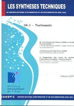 Couverture de l'ouvrage Traitements (Les Synthèses techniques du service national d'information et de documentation sur l'eau, EN 04-1)