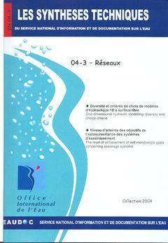 Couverture de l'ouvrage Réseaux (Les Synthèses techniques du service national d'information et de documentation sur l'eau, EN 04-3)