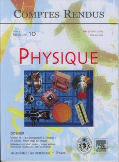 Couverture de l'ouvrage Comptes rendus Académie des sciences, Physique, tome 4, fasc 10, Décembre 2003 : vision IR : du composant à l'image, IR vision : from chip to image
