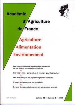 Couverture de l'ouvrage Comptes rendus de l'AAF Vol.90 N° 2 2004 les microorganismes nouvellement séquencés et leur intêret en agriculture tropicale...