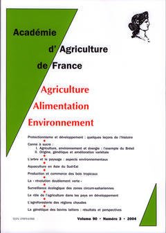 Couverture de l'ouvrage Comptes rendus de l'AAF Vol.90 N° 3 2004 protectionnisme et développement : quelques leçons de l'histoire...