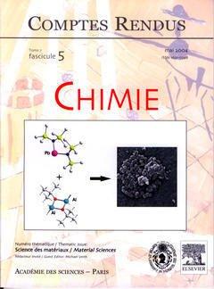 Couverture de l'ouvrage Comptes rendus Académie des sciences, Chimie, tome 7, fasc 5, Mai 2004 : science des matériaux, Material sciences