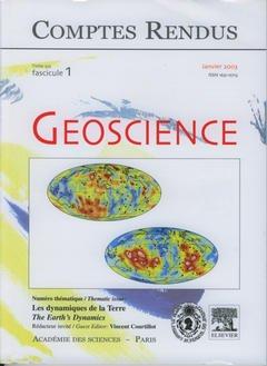 Couverture de l'ouvrage Comptes rendus Académie des sciences, Géoscience, tome 335, fasc 1, Janvier 2003 : les dynamiques de la Terre, The earth's dynamics