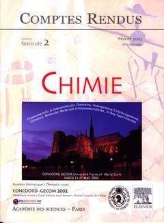 Couverture de l'ouvrage Comptes rendus Académie des sciences, Chimie, tome 6, fasc 2, Février 2003 : Concoord-Gecom 2002