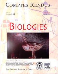Couverture de l'ouvrage Comptes rendus Académie des sciences, Biologies, tome 325, fasc 4, Avril 2002 : acquisition conduite par le modèle / Model-driven acquisition...