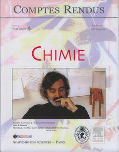 Couverture de l'ouvrage Comptes rendus Académie des sciences, Chimie, tome 5, fasc 4, Avril 2002 : numéro hommage à / Issue commemorating John A.Osborn