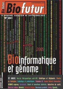 Couverture de l'ouvrage Biofutur 251 : Bioinformatique et génome