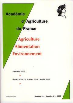 Couverture de l'ouvrage Comptes rendus de l'AAF Vol. 91 N° 1 2005 : annuaire 2005, installation du bureau pour l'année 2005