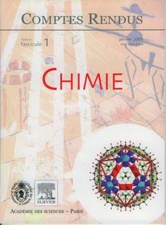 Couverture de l'ouvrage Comptes rendus Académie des sciences, Chimie, Tome 8, fasc 1, Janvier 2005