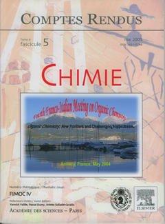 Couverture de l'ouvrage Comptes rendus Académie des sciences, Chimie, tome 8, fasc 5, Mai 2005 : FIMOC IV