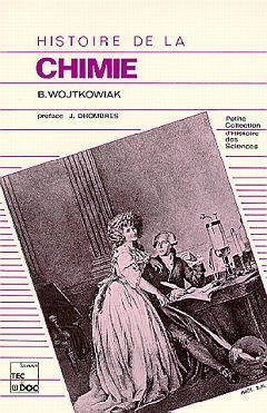 Couverture de l'ouvrage Histoire de la chimie