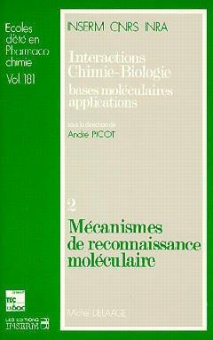 Couverture de l'ouvrage Mécanismes de reconnaissance moléculaire
